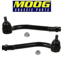 For Pair Set of 2 Front Outer Tie Rod Ends MOOG for Hyundai Santa Fe Kia Sorento