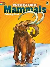 Prehistoric Mammals Coloring Book by Jan Sovak