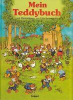 Mein grosses farbiges Teddybuch. Mit Illustrationen von Fritz Baumgarten. Mennel