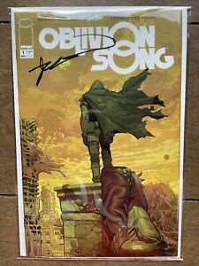 OBLIVION SONG #1 NM Signed by Robert Kirkman Image Skybound 2018 MOVIE