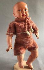 Celluloid Zelluloid Charakter Puppe Bebi? Knabe 23,5 cm Spielzeug Schildkröt ~20