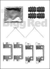 Pinza de Freno Frontal Almohadilla Kit Montaje para Honda Cr-Z & Insight & Jazz