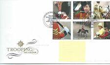 wbc. - GB - FIRST DAY COVER - FDC - COMMEMS -2005- TROOPING/COLOUR - Pmk LONDON