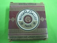 Antique perfumed soap Roger & Gallet Paris extra-vieille 25 g made in france