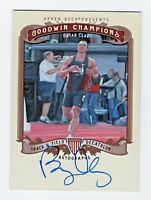 2012 Goodwin Champions Autograph Bryan Clay Track Decathlon Olympic Gold 2008