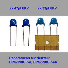 Fuente de alimentación-REPARATURSET para dps-298cp-a (f. Philips 37pfl8404,37pfl9604,37pfl8684)
