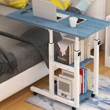 31.5'Office Bedside Laptop Computer Desk Rolling Adjustable Portable Table Cart