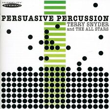 Persuasive Percussion - Terry The All Stars Snyder (2011, CD NIEUW)
