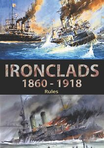 Naval wargames rules Ironclads 1860-1918 for 1/1200 scale model ships