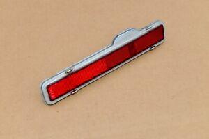 90 91 92 Cadillac Brougham Left Driver Side Rear Marker Light Bumper End