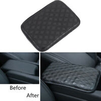 Car Cushion Armrest Pad Cover Center Console Box Leather Armrest Pads Universal
