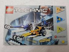MANUALE ISTRUZIONI LEGO 8238 TECHNIC SLAMMERS DRAGSTERS - ONLY MANUAL