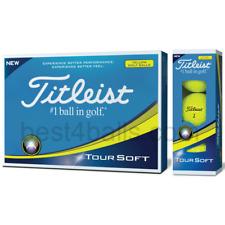 Titleist Tour Soft Yellow Golf Balls! One Dozen(12)! Brand New In Package!