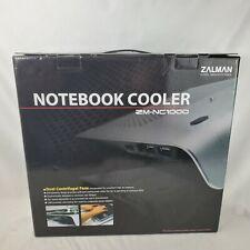 Zalman  ZM-NC1000 Ultra-Quiet USB Notebook Cooler Black fan for Laptop