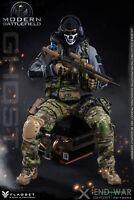 FLAGSET 1/6 X Ghost End War Reaper Team X Modern Battlefield Action Figure 73033