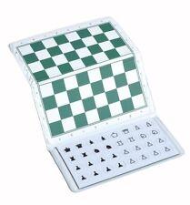 US Chess Standard Checkbook Magnetic Travel Chess Set