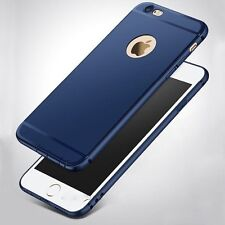 """For """"Apple iPhone 6G/6S"""" Candy Slim Soft Silicone Matte Back Case Cover - Blue"""