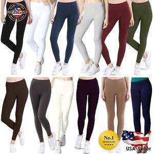 Nikibiki NEW Women Seamless Ankle Length Leggings Regular & Plus Size Soft Comfy