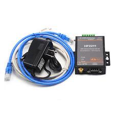 HF2211 Serial Port RJ45 RS232 485 422 Serial to Ethernet/Wi-Fi Conversion Server