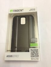 Trident Aegis Black Case Cover & LCD Protector For Samsung Galaxy S5 i9600