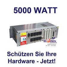 STROMSTABILISATOR + AUTOM. SICHERUNG FÜR BIS 8 PC SERVER FERNSEHER MONITOR 5000W