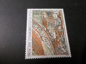 ANDORRE FRANCAIS 1984, timbre 334 PEINTURE SANT CERNI neuf**, VF MNH STAMP