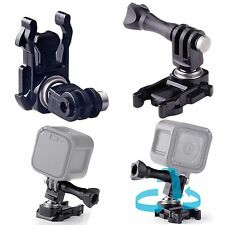 360° Rotation Ball Joint Buckle Adapter Mount For Gopro Hero 5 Session 4 3+ 3 2