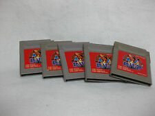 Lot 5 Pocket Monster Red Game Boy Pokemon Nintendo Japan