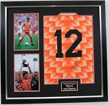 Marco Van Basten Signed & FRAMED Holland 1988 Jersey Netherlands Milan AFTAL COA