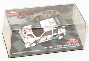 1/43 Peugeot 205 T16 Evo.2   Monte Carlo Rally 1986  J.Kankkunen / J.Piironen