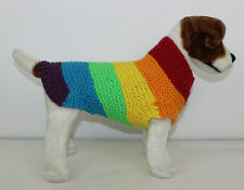 PRINTED KNITTING INSTRUCTIONS - CHUNKY SPECTRUM DOG COAT KNITTING PATTERN