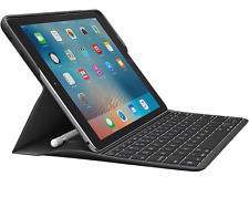 "Logitech Create Keyboard Case Smart Connector for iPad Pro 9.7""(not 10.5"") Black"