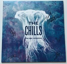 THE CHILLS - THE BBC SESSIONS HAND SIGNED RARE LP RECORD AUTOGRAPHED