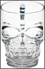 Glass Skull Drinking Beer Mug Bar Glassware Water Cup Beverage Gift Jars Liquor