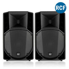 Pair RCF ART 715-A Mk4 Active Powered PA Speakers DJ Live Sound System 1400W
