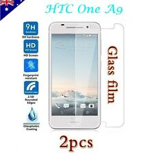 2x HTC One A9 Tempered Glass / Plastic Screen Protector Film Guard