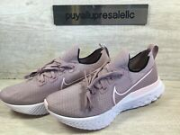 Womens Nike React Infinity Run Flyknit. Plum Fog/White/Pink CD4372-501 Size 10.5