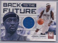 2012-13 Jason Terry  Elite Back to the Future  Relics Jumbo Jersey