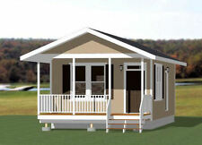 16x30 Tiny House - 480 sq ft - Pdf Floor Plan - Model 3