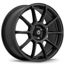 4-NEW Konig 41B Runlite 17x7.5 4x100  Matte Black Wheels Rims