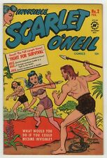 Invisible Scarlet O'Neil (1950) #2 Lingerie Cover Russel Stamm & Bob Powell Fine