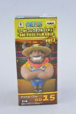 Banpresto One Piece World Collectible WCF Film Gold Kent Beef Jr Vol 3 GD15