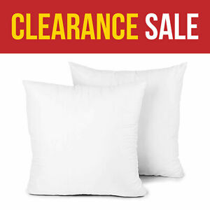 Cushion Pad Deep Filled Hollowfiber 20 x 20 In Cushion Inserts Inners-1 2 4 Pack