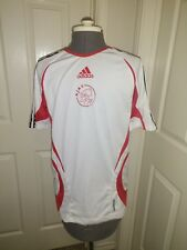 Vintage Adidas Ajax FC Soccer Jersey 1990's--2000s, Size Adult Small