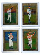 2007 Topps Turkey Red Chrome Complete 100 card Set. Serial numbered set to 1999