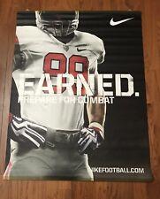 Nike Ohio State Vinyl Banner Poster Buckeyes Pro Combat Rivalry 1954 OSU Rare