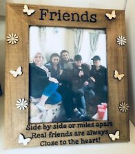 Best Friends Wooden Photo Picture Frame Personalised Frames Friendship Birthday