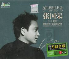 Leslie Cheung  张國榮  千千闕歌 + Greatest Hit 3 CD 54 Songs 24K Gold Dics