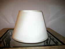 Bell Lamp Shade Ivory 10 Inch