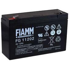 FIAMM Recambio de Batería para Vehículos para niños Coche Infantil Quad 6V 12